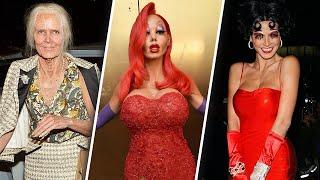 Heidi Klum: Craziest Halloween Costumes Ever | 🎃 OSSA Halloween