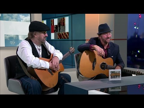 Chas 'n' Dave interview & performance - ITV News London 21.10.16