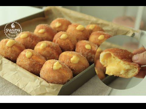 How to Make Soft & Crispy Cream Doughnuts
