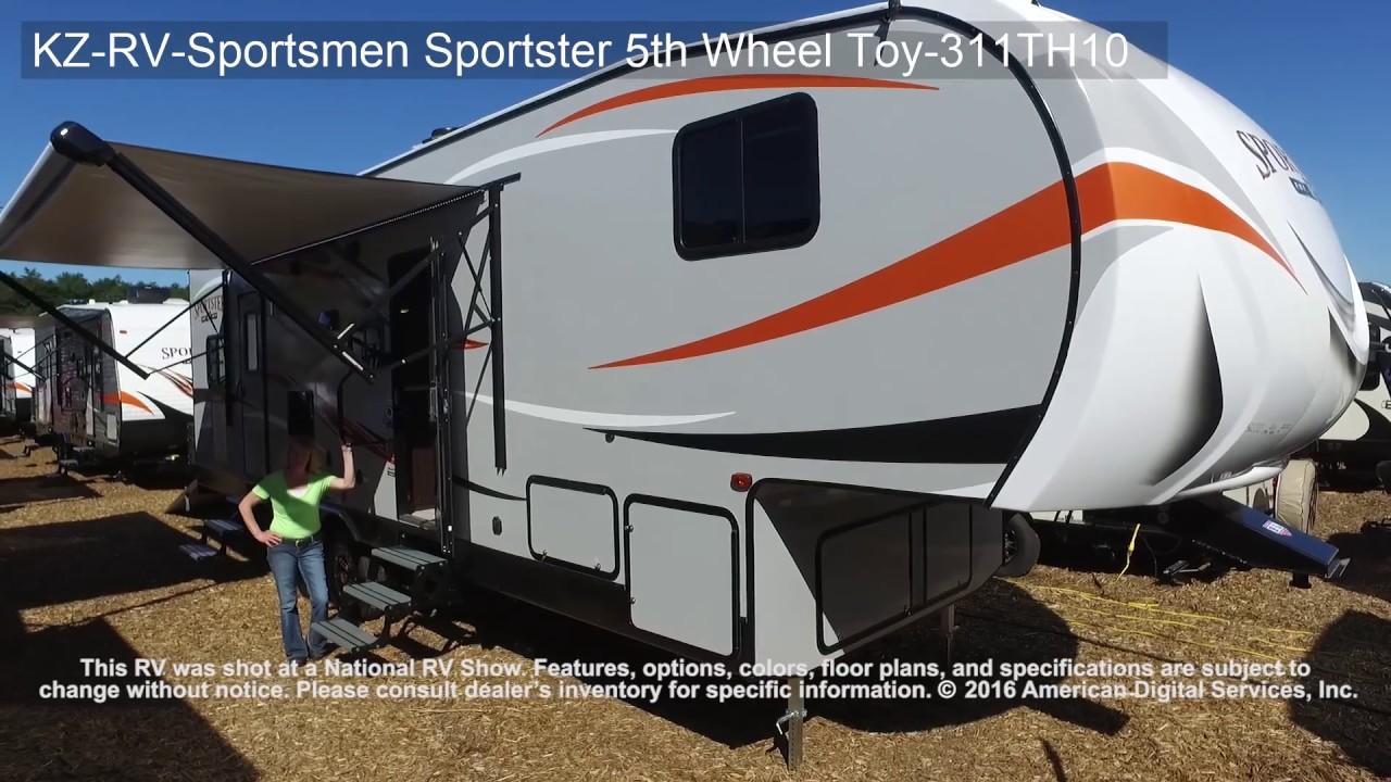KZ-RV-Sportsmen Sportster 5th Wheel Toy-311TH10