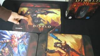 Steelseries Limited Edition Diablo 3 Mouse Pad Unboxing & First Look Linus Tech Tips
