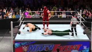 WWE 2K16 Jack 6 vs Bane vs Juggernaut