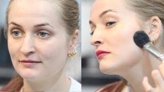 Дневной макияж за 5мин. Секрет чемпионки Европы по визажу. (Урок №26)