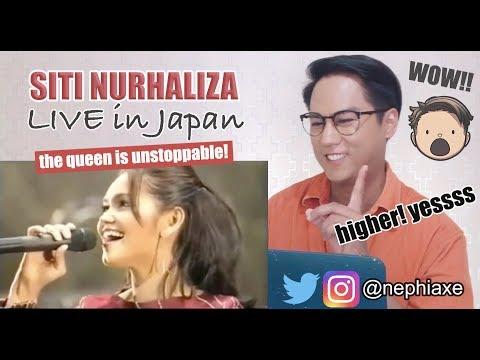 Siti Nurhaliza LIVE in JAPAN  Treasure The World 2003 | SINGER REACTS