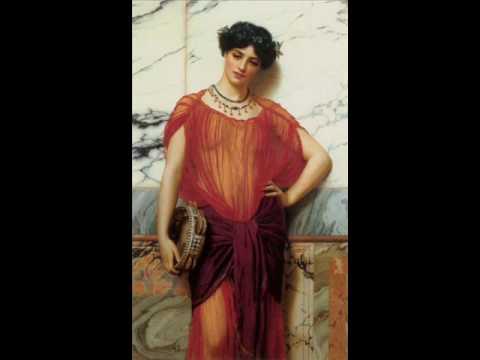 Música De La Grecia Antigua John William Godward Youtube