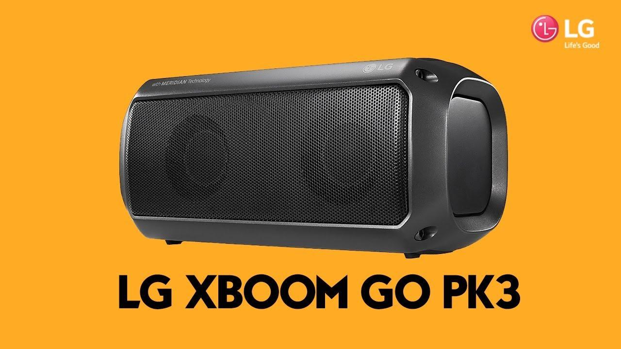 Download LG XBOOM GO PK3 | Review en español