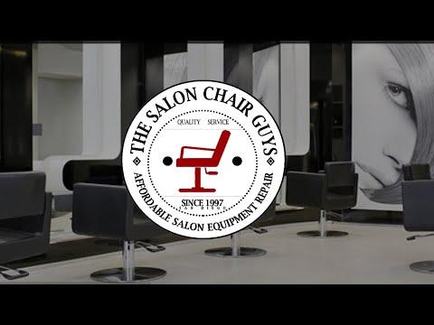 The Salon Chair Guys shampoo bowl installation.