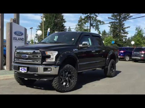 Lifted 2016 Ford F 150 Lariat Fx4 Supercrew 4x4 Review Island Ford
