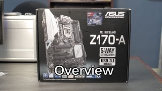 Asus Z170-A : Skylake Motherboard Overview & Unboxing