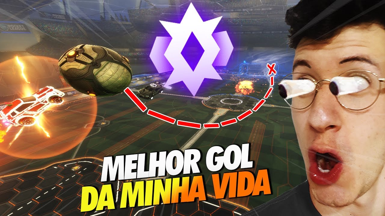 O GOL MAIS BONITO DA MINHA VIDA + CHAMP 2! - ROCKET LEAGUE