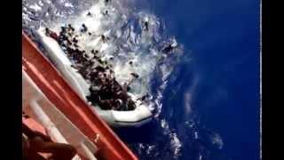 M.V. Stjerneborg Search & Rescue Malta to Libya Migrant part 1