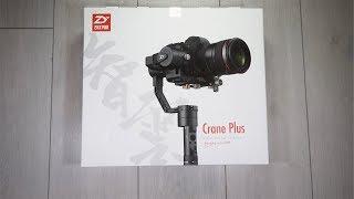 Zhiyun Crane Plus - Déballage, présentation et test - Français