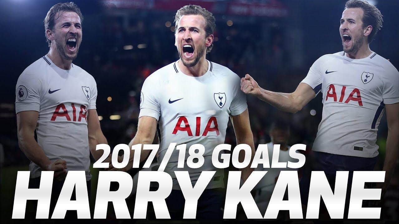 HARRY KANE'S 2017/18 PREMIER LEAGUE GOALS