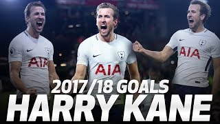 HARRY KANE'S 2017/18 PREMIER LEAGUE GOALS