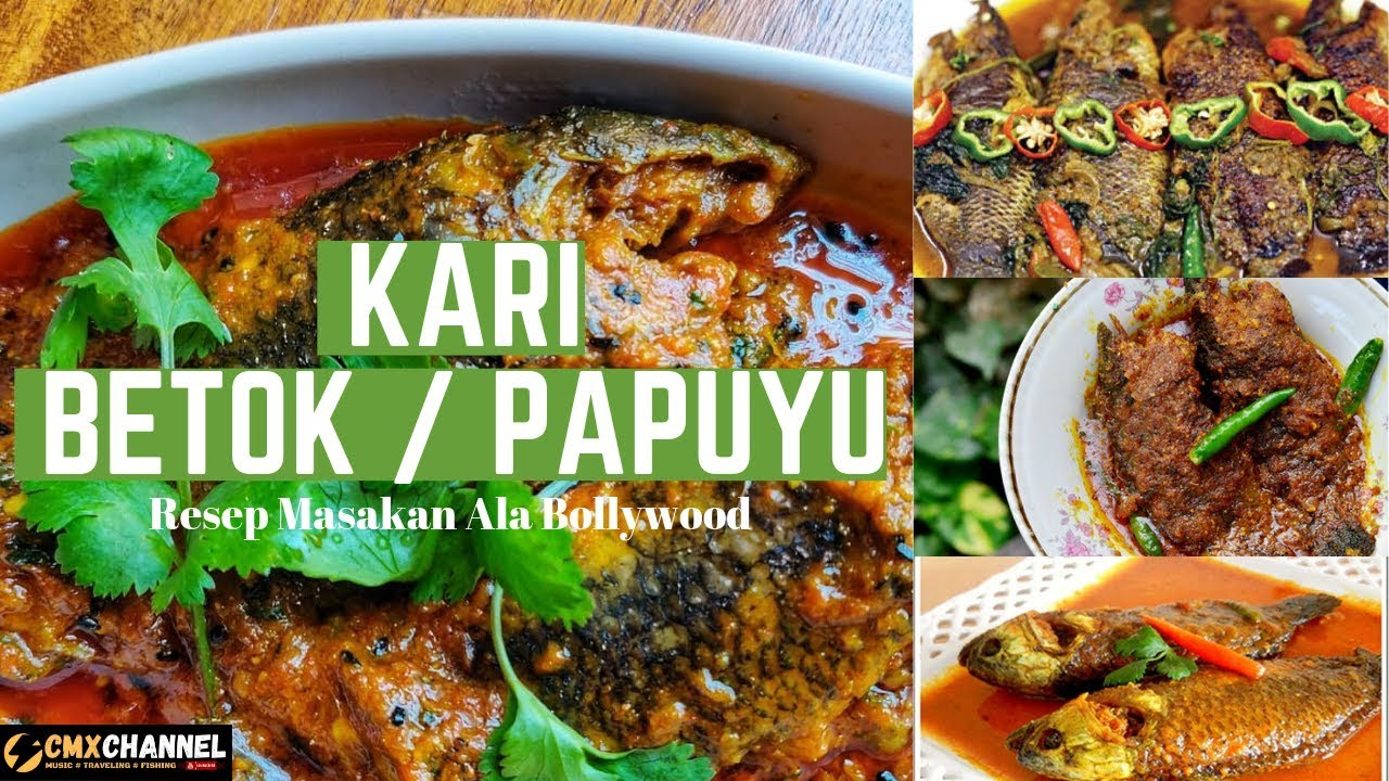 Resep Kari Ikan Betok Papuyu I Menu Spesial I Kuliner Kalimantan Youtube