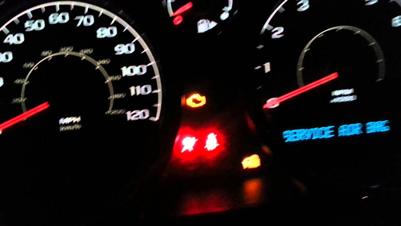 Trailer Brake Warning Chevy Silverado Brass Knuckles Diagram 2005 Airbag Light Autos Post