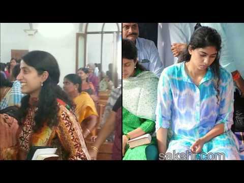 YS Jagan Mohan Reddy wife Bharati simplicity in Public Exclusive