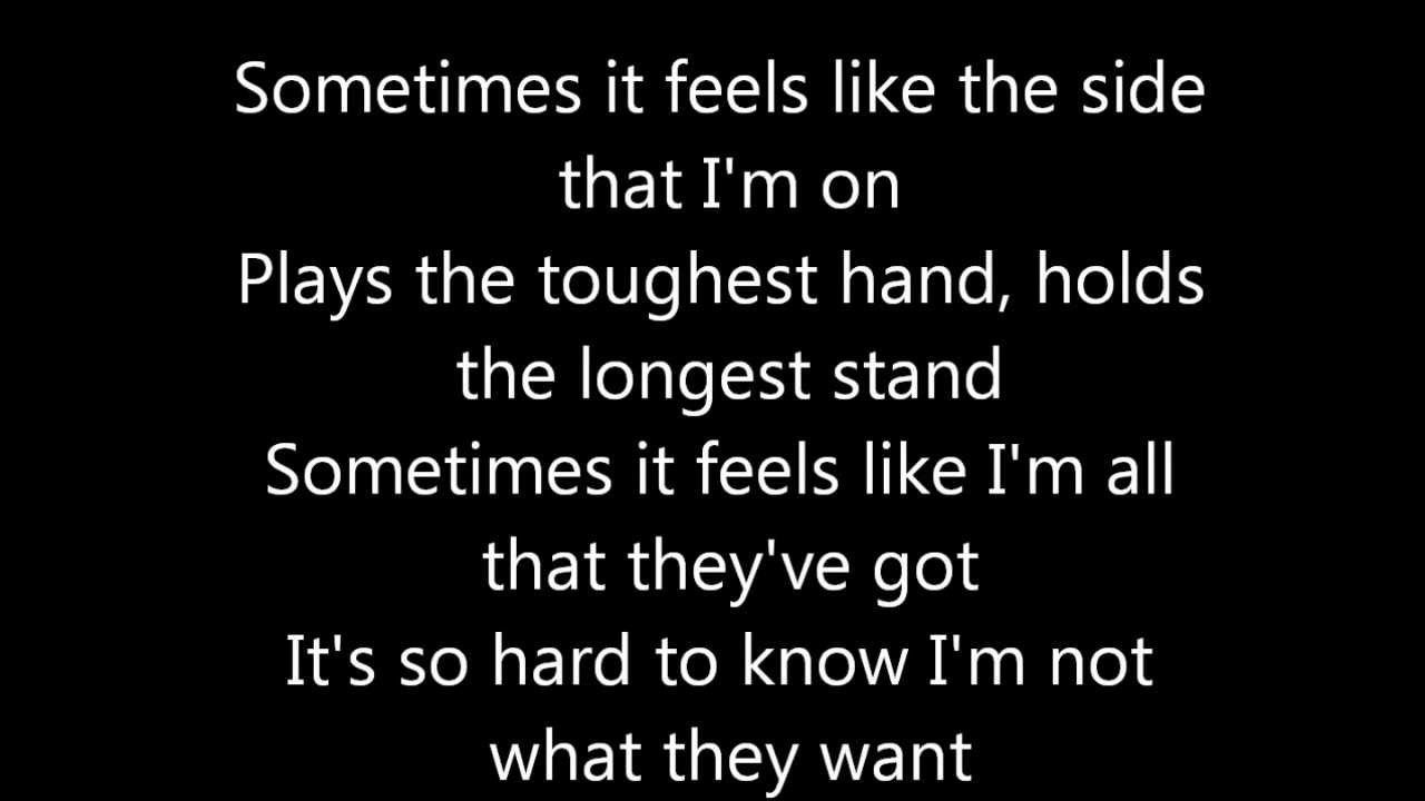 Tegan and sara not with you lyrics