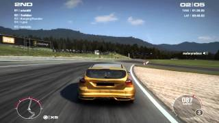 Grid 2 gameplay ford focus ST 1440p