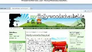 Hollywoodschaukel kaufen