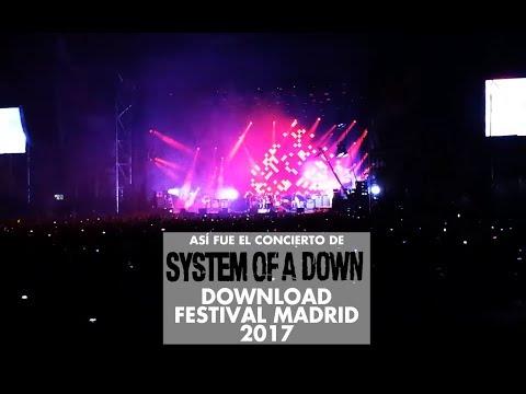 Así fue el concierto de System of a Down en Download Festival Madrid 2017
