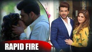 vuclip Zareen Khan's FIERY Rapid Fire On Shahid Afridi, KISSING, Karan Kundrra, Horror Films & Lot More