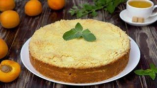 Абрикосовый насыпной пирог — Рецепты от Со Вкусом