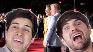 CRASHING THE DUMB AND DUMBER TO RED CARPET!
