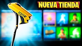 FORTNITE'S NEW STORE TODAY AUGUST 29 NEW CALL CONGA GESTO AND SKIN FULGOR