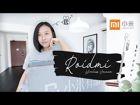 Unboxing Roidmi F8e (S1E) Xiaomi Wireless Handheld Vacuum for cheap??