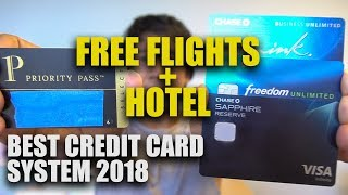 FREE FLIGHTS + HOTEL FROM CREDIT CARDS | ADVANTAGES TRAVELING WITH ONLY CREDIT CARDS