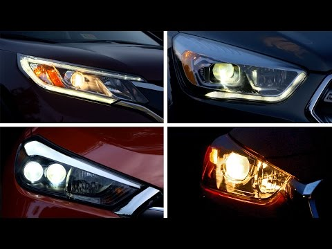 Small SUV Headlights Rate Poor In IIHS Evaluations