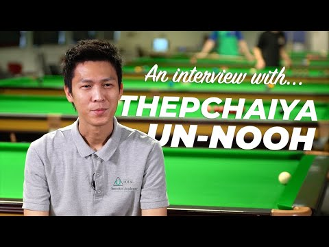 Get to know snooker's 'F1' - THEPCHAIYA UN-NOOH!