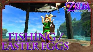 Zelda: Majoras Mask 3D - Bonus 2 | Fishing Holes and Easter Eggs