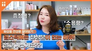 립스틱에는 왜 전성분 표시가 없을까? 화장품 성분 표시…