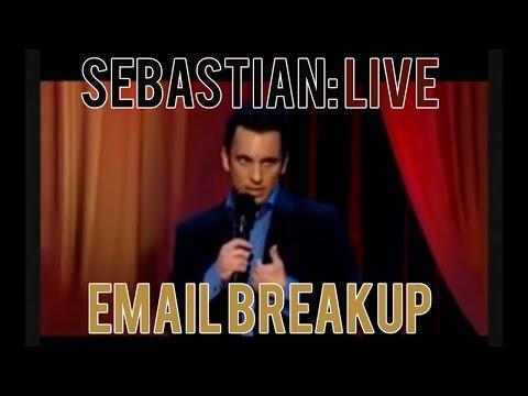 Email Breakup | Sebastian Maniscalco: Sebastian Live