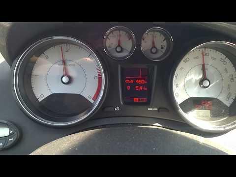 Peugeot 408 1.6 HDI дизель, мгновенный расход топлива при скорости 90-125 км/ч