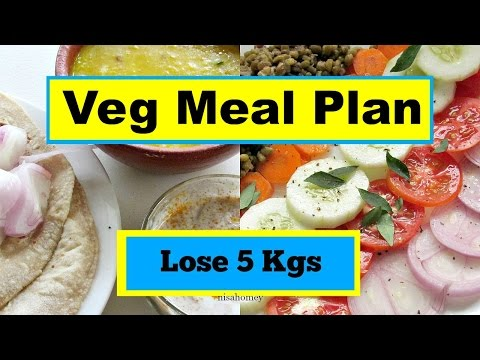 How To Lose Weight Fast - Full Day Indian Meal Plan - 500 Calorie Diet Plan For Weight Loss - 5 kg
