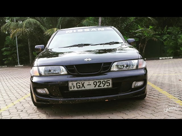 Nissan Pulsar JN15 VZ-R costemized exhaust - Sri Lanka