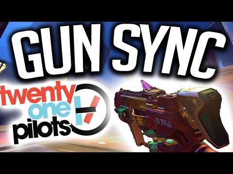 Overwatch Gun Sync - Twenty One Pilots - Ride (Unlike Pluto remix) (Chill Sync)