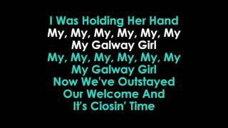 Ed Sheeran Galway Girl karaoke