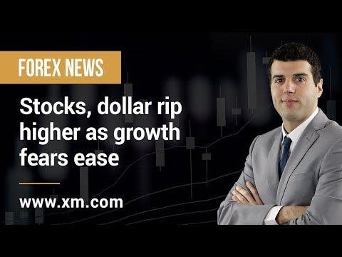 Forex News: 02/04/2019 - Stocks, dollar rip higher as growth fears ease