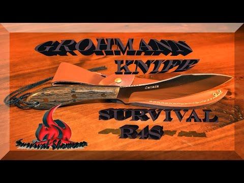Grohmann Survival Knife R4S