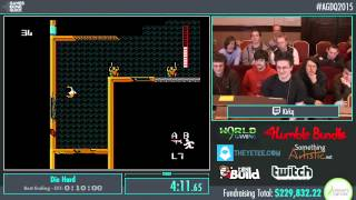 Awesome Games Done Quick 2015 - Part 53 - Die Hard by KirkQ