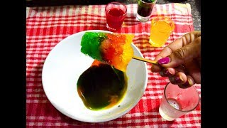Ice Gola Recipe | Crushed Ice Lollypop | Indian Street Food Homemade Ice Gola - Bengali #316