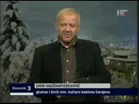 Emir Hadzihafizbegovic  Controversial visit Monica Bellucci Bosni i Hercegovini
