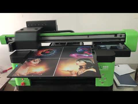 2019 KMBYC 6090 UV Printing Machine A1 Phone Case Printer ...