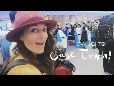 MOVING TO CAPE TOWN! - Professional Wild Child Vlog - Cape Town Vlog #1
