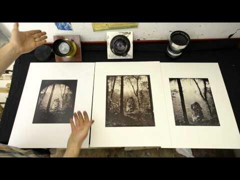 Wet Plate Collodion Negative & Albumen Print Process