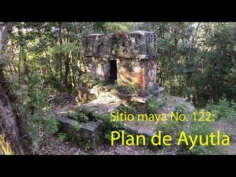 Sitio maya No. 122. Plan de Ayutla, Chiapas